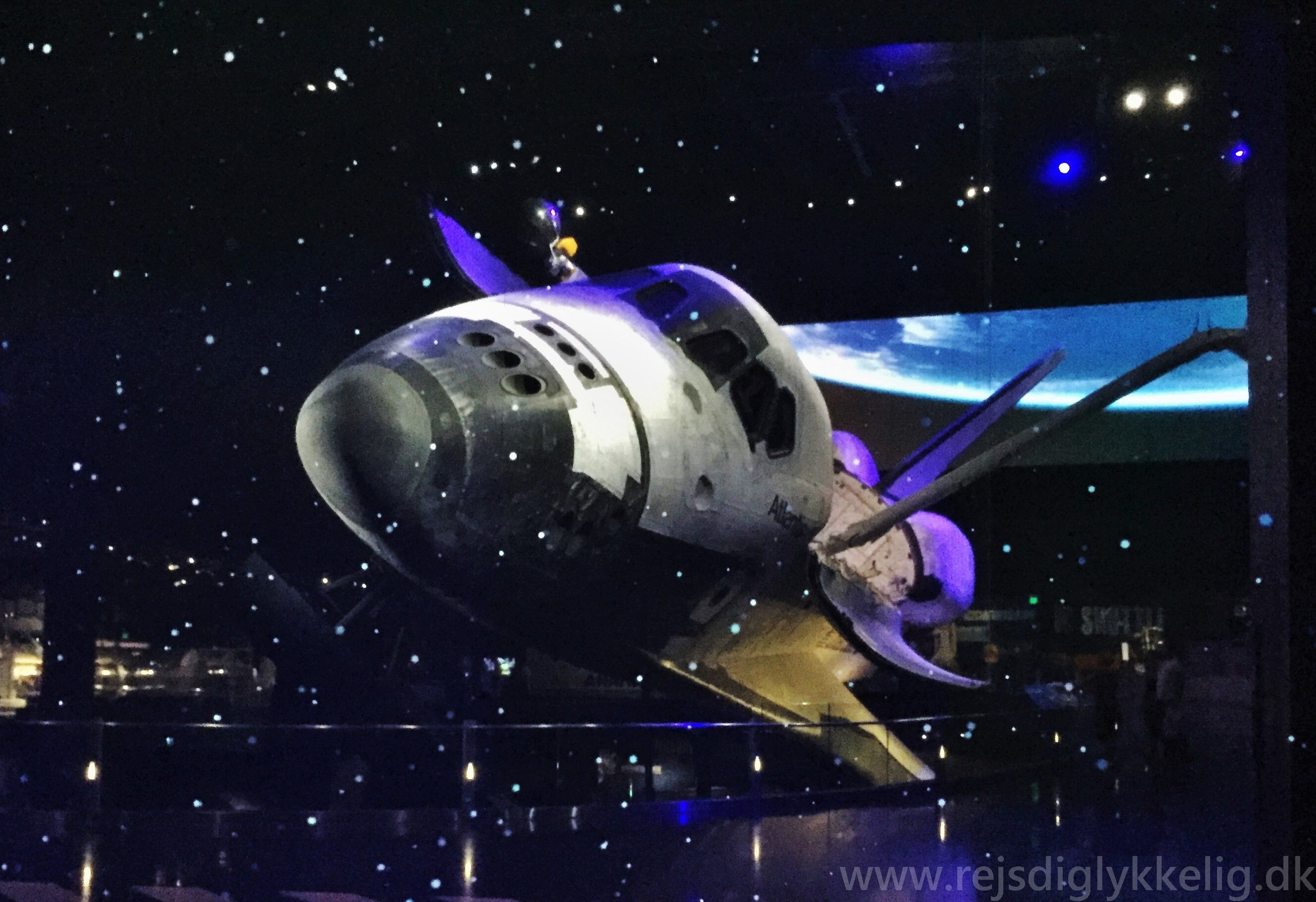 Rumskibet Atlantis hos Kennedy Space center