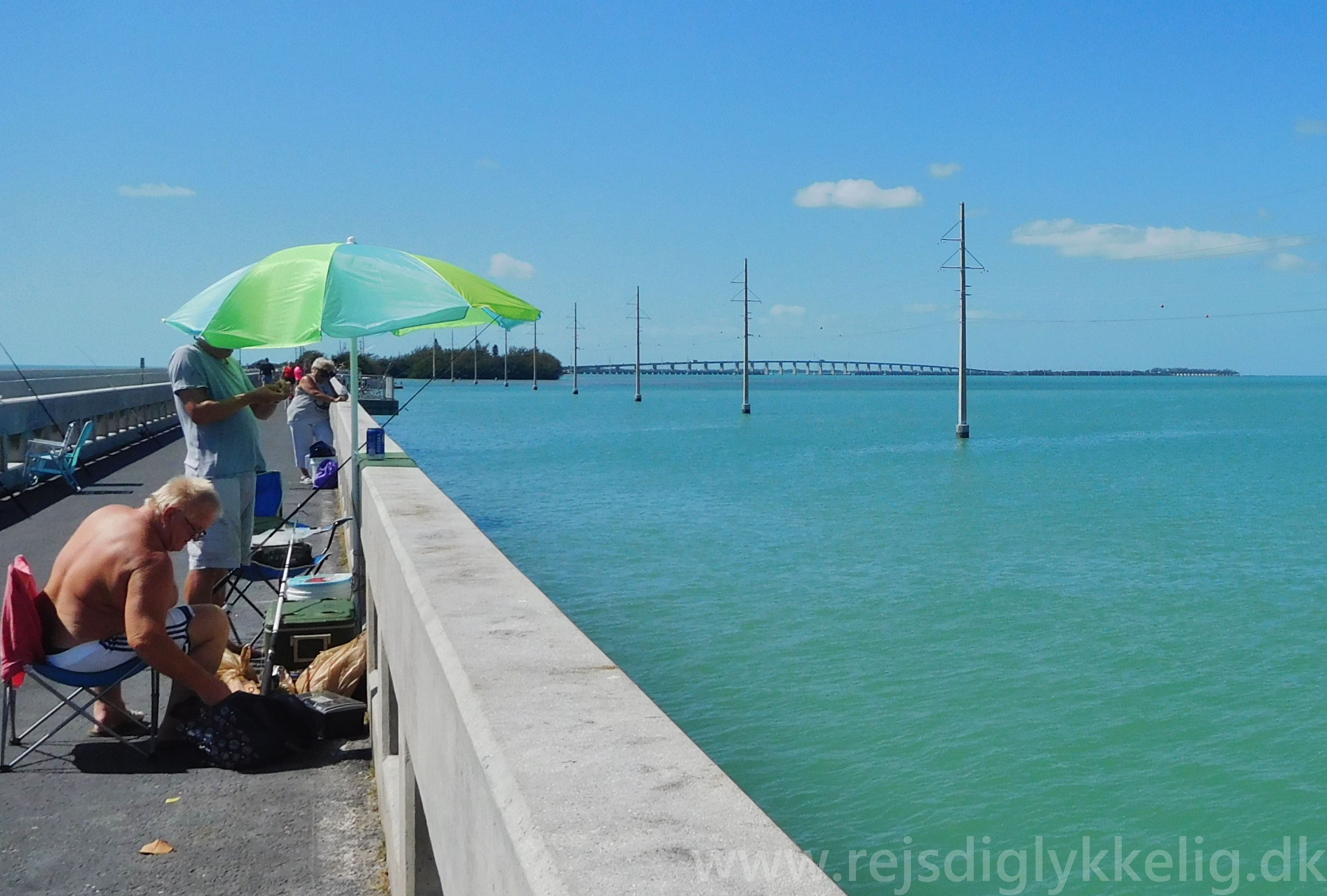 Krydser de mange broer i Florida Keys, for at nå til Key West