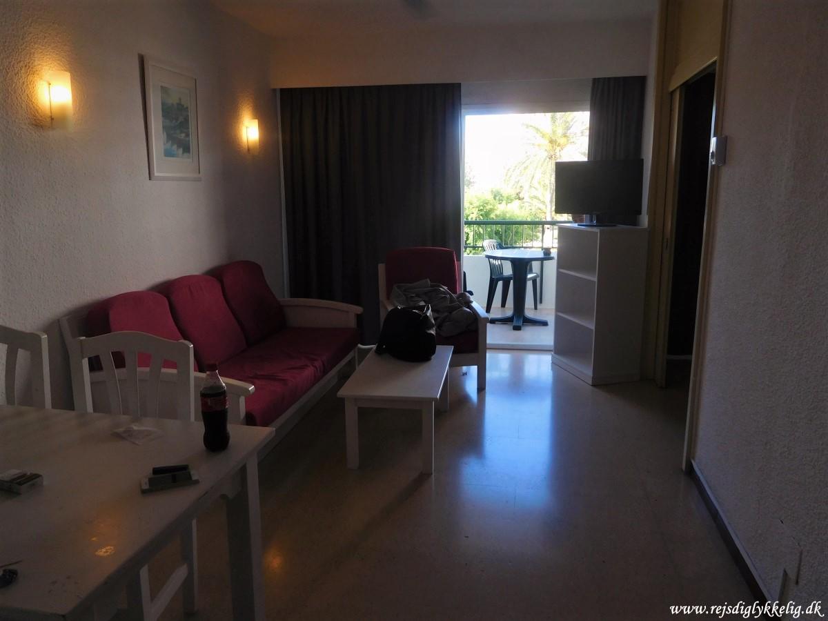 Anmeldelse af Hotel BelleVue Club Apollo - Hotelværelset - Rejsdiglykkelig.dk