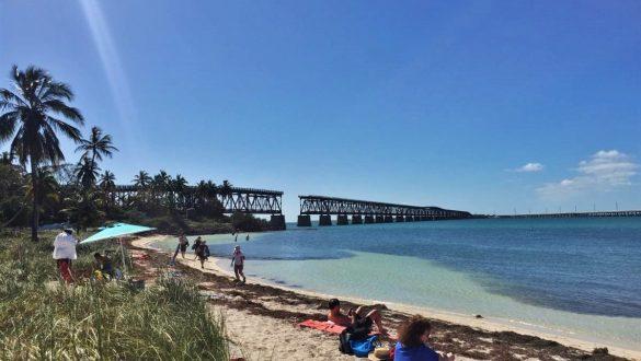 Fotodagbog fra Florida - Bahia Honda State Park med den gamle jernbane - Rejsdiglykkelig.dk