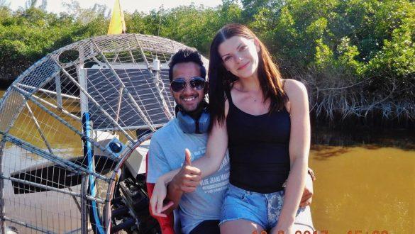 Fotodagbog fra Florida - Capt Jack's Airboat Tours i det sydlige Florida - Rejsdiglykkelig.dk
