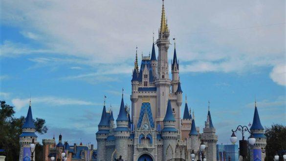 Fotodagbog fra Florida - Cinderella Castle i Magic Kingdom - Disney World Orlando - Rejsdiglykkelig.dk