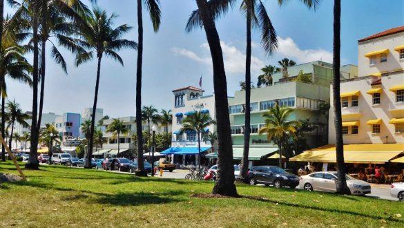 Fotodagbog fra Florida - Lummus Park ved Ocean Drive i Miami - Rejsdiglykkelig.dk