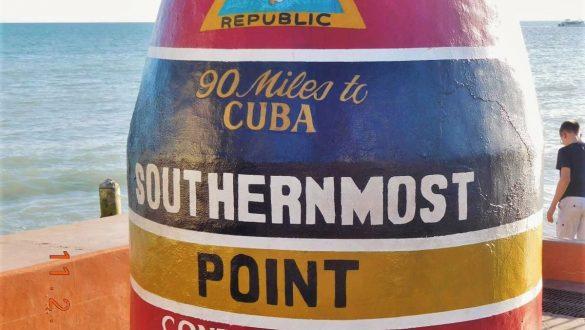 Fotodagbog fra Florida - Southernmost Point i Key West - Rejsdiglykkelig.dk
