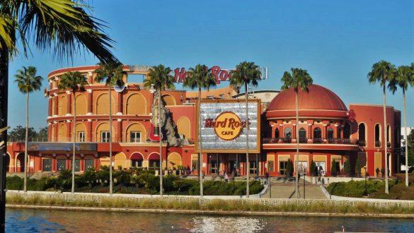 Fotodagbog fra Florida - Verdens største Hard Rock Cafe i Universal CityWalk Florida - Rejsdiglykkelig.dk
