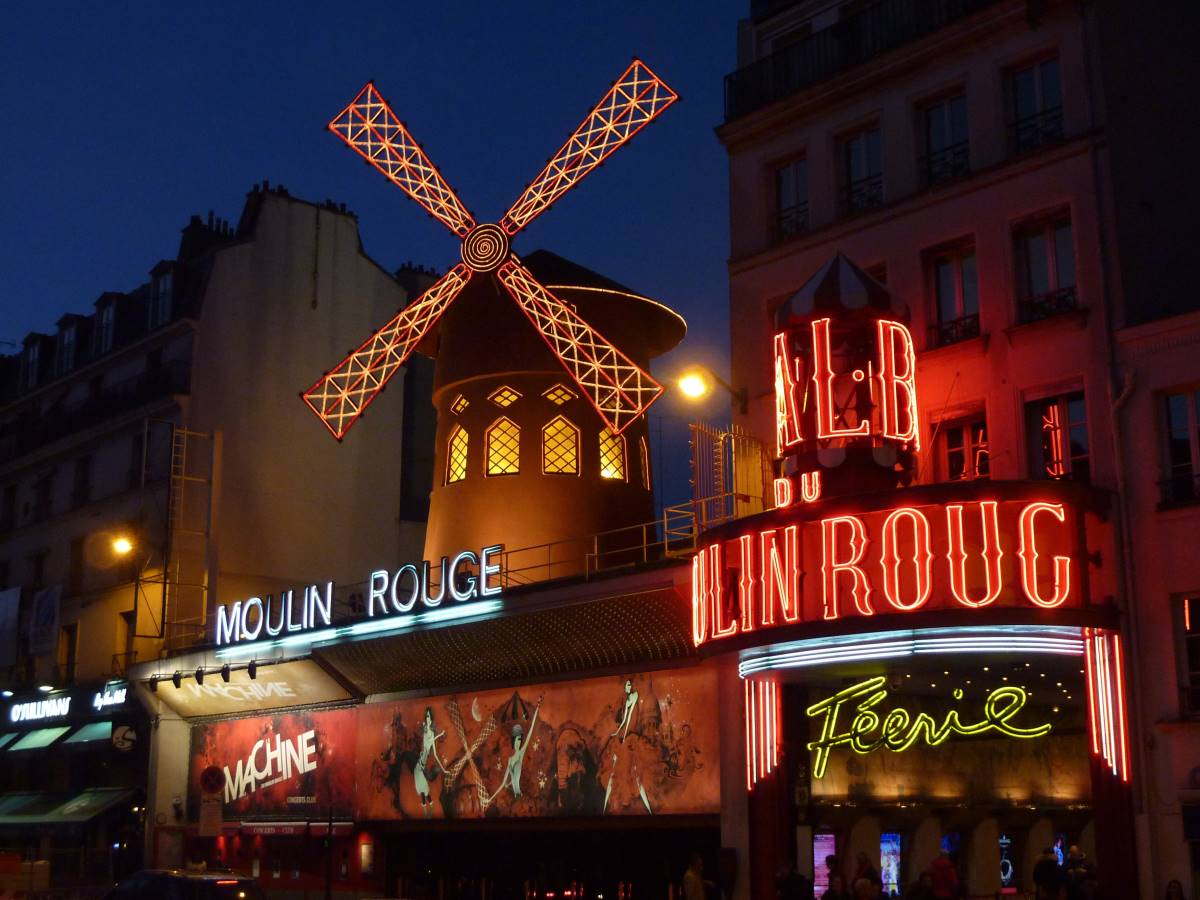 Moulin Rouge -Rejs Dig Lykkelig