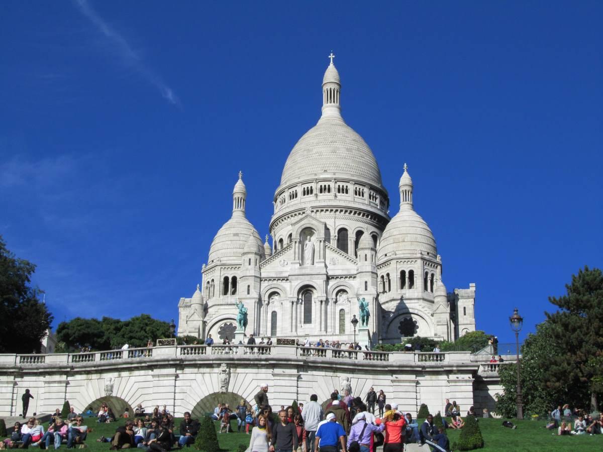 18 Must-see Seværdigheder i Paris - Sacre Coeur-Rejs Dig Lykkelig