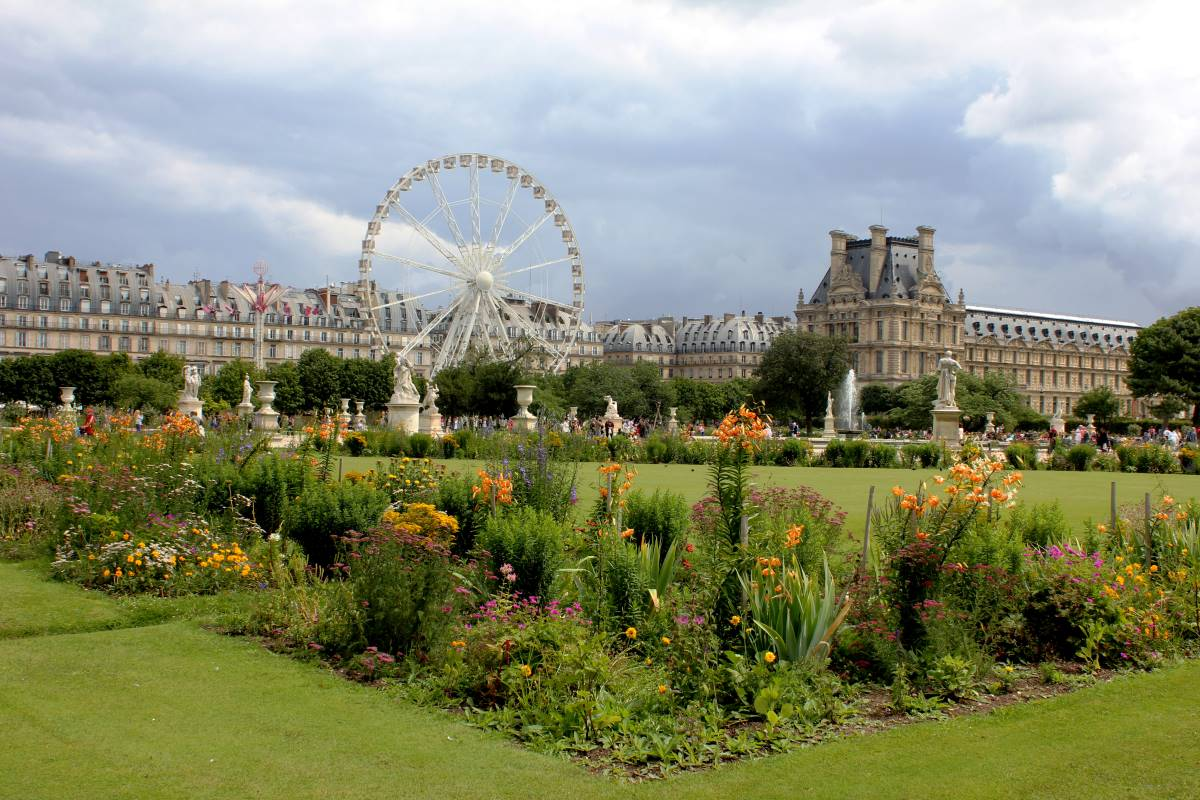 18 Must-see Seværdigheder i Paris - Tuileries-haverne - Rejs Dig Lykkelig