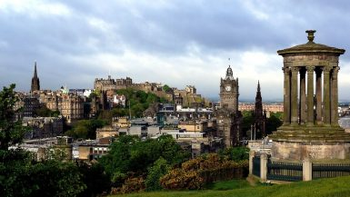 Europas oversete storbyer - Edinburgh - www.rejsdiglykkelig.dk