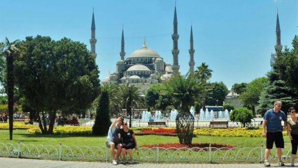 Fotodagbog fra Istanbul - Den Blå Moske - Rejsdiglykkelig.dk