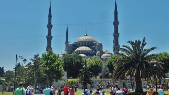 Fotodagbog fra Istanbul - Den Blå Moske i Istanbul - Rejsdiglykkelig.dk