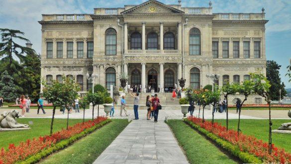 Fotodagbog fra Istanbul - Det eksklusive Dolmabahce Palace - Rejsdiglykkelig.dk