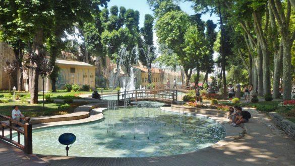 Fotodagbog fra Istanbul - En skøn oase i Istanbul - Rejsdiglykkelig.dk