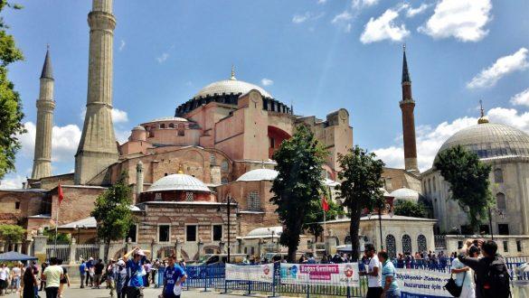Fotodagbog fra Istanbul - Hagia Sophia Moske - Rejsdiglykkelig.dk