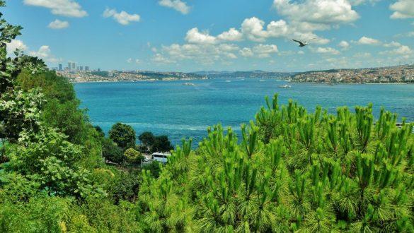 Fotodagbog fra Istanbul - Udsigten fra Topkapi Palace - Rejsdiglykkelig.dk