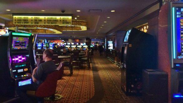 Fotodagbog fra Las Vegas - Kasinoet på Golden Nugget Hotel - Rejsdiglykkelig.dk