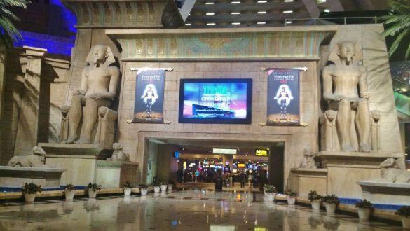 Fotodagbog fra Las Vegas - Luxor Hotel og Casino - Rejsdiglykkelig.dk