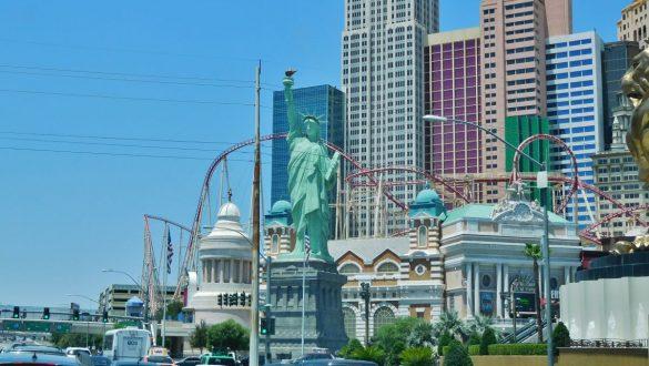 Fotodagbog fra Las Vegas - New York New York Hotel og Casino - Rejsdiglykkelig.dk