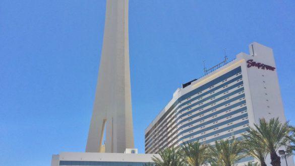 Fotodagbog fra Las Vegas - Stratosphere Tower - Las Vegas' højeste bygning - Rejsdiglykkelig.dk