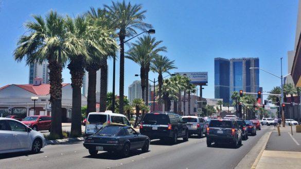 Fotodagbog fra Las Vegas - The Strip i dagslys - Rejsdiglykkelig.dk