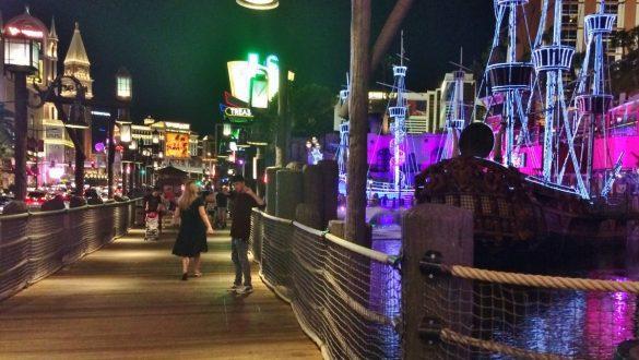 Fotodagbog fra Las Vegas - Treasure Island Hotel på The Strip - Rejsdiglykkelig.dk