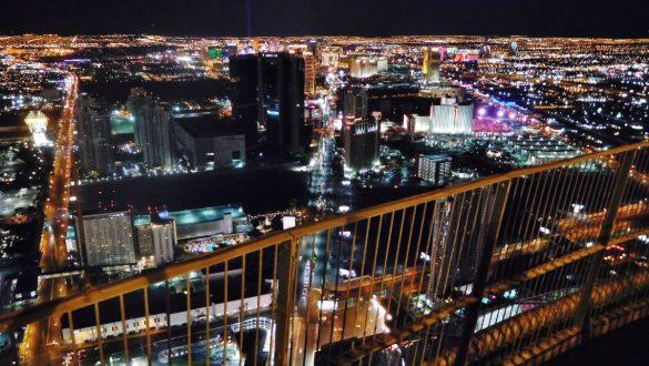 Fotodagbog fra Las Vegas - Udsigten over The Strip fra Stratosphere Tower - Rejsdiglykkelig.dk