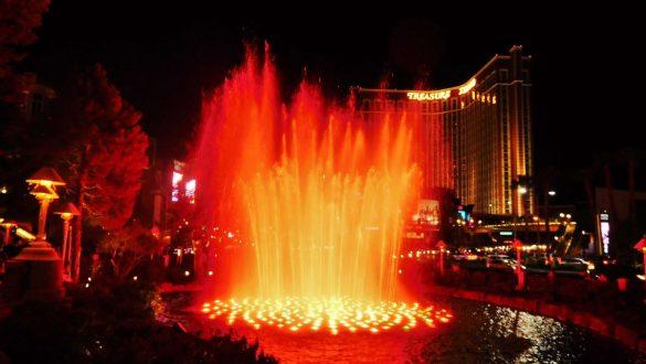 Fotodagbog fra Las Vegas - Wynn Hotel og Casino - Rejsdiglykkelig.dk