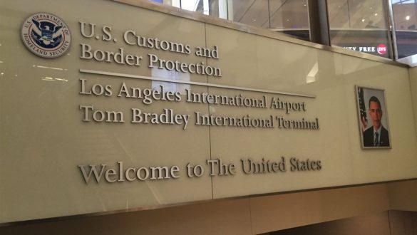 Fotodagbog fra Los Angeles - Ankommet til Los Angeles International Airport - Rejsdiglykkelig.dk
