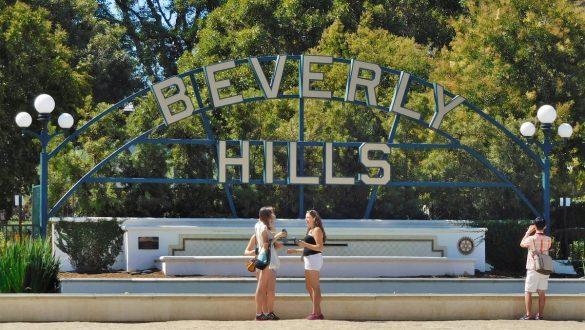 Fotodagbog fra Los Angeles - Beverly Hills skiltet - Rejsdiglykkelig.dk