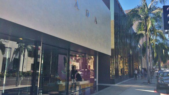 Fotodagbog fra Los Angeles - Butikker på Rodeo Drive - Rejsdiglykkelig.dk