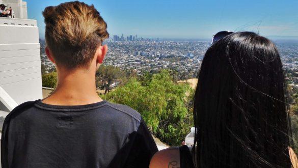 Fotodagbog fra Los Angeles - Nyder udsigten over LA - Rejsdiglykkelig.dk