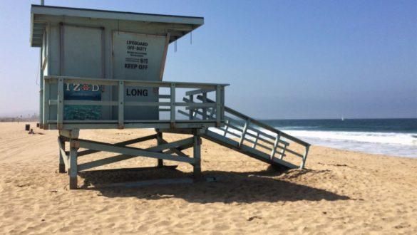 Fotodagbog fra Los Angeles - På stranden i LA - Rejsdiglykkelig.dk