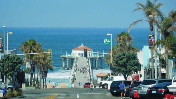 Fotodagbog fra Los Angeles - På vej til stranden i Los Angeles - Rejsdiglykkelig.dk