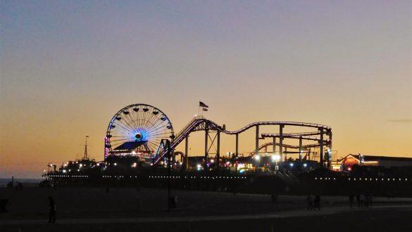 Fotodagbog fra Los Angeles - Pacific Park på Santa Monica Pier - Rejsdiglykkelig.dk