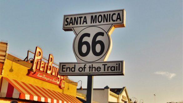 Fotodagbog fra Los Angeles - Route 66 End of Trail på Santa Monica Pier - Rejsdiglykkelig.dk