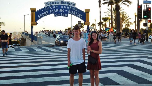 Fotodagbog fra Los Angeles - Santa Monica Pier - Rejsdiglykkelig.dk
