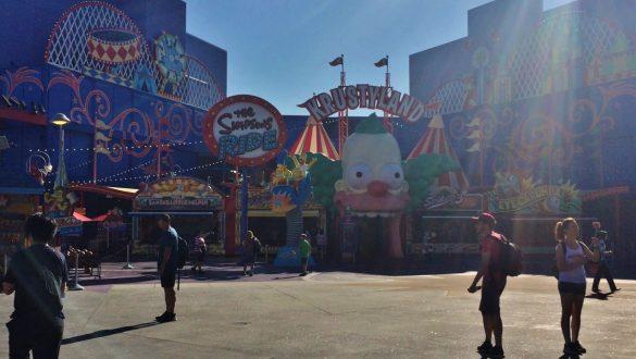 Fotodagbog fra Los Angeles - The Simpsons Ride i Universal Studios - Rejsdiglykkelig.dk