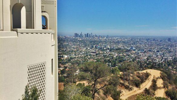 Fotodagbog fra Los Angeles - Udsigten over Los Angeles fra Griffith Observatory - Rejsdiglykkelig.dk