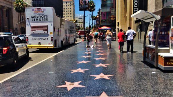 Fotodagbog fra Los Angeles - Walk of Fame i Hollywood - Rejsdiglykkelig.dk