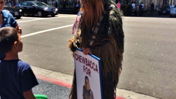 Fotodagbog fra Los Angeles - Walk of Fame under præsidentvalget i USA - Rejsdiglykkelig.dk