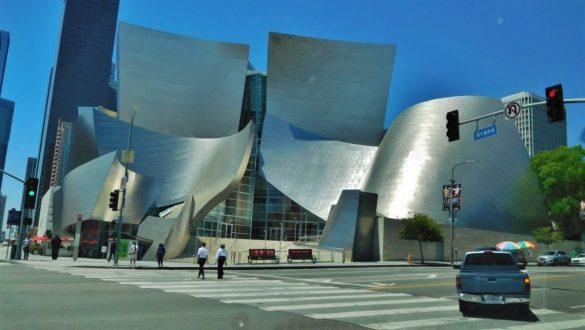 Fotodagbog fra Los Angeles - Walt Disney Concert Hall i Downtown LA - Rejsdiglykkelig.dk
