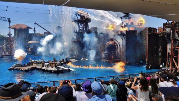 Fotodagbog fra Los Angeles - WaterWorld Show i Universal Studios Hollywood - Rejsdiglykkelig.dk