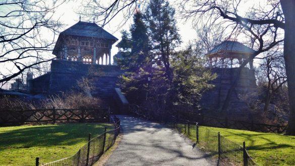 Fotodagbog fra New York - Belvedere Castle i Central Park - Rejsdiglykkelig.dk