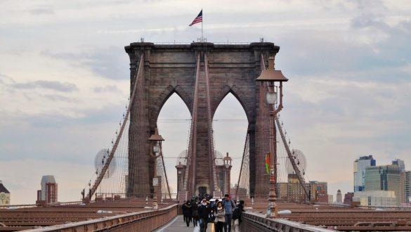 Fotodagbog fra New York - Brooklyn Bridge - Rejsdiglykkelig.dk