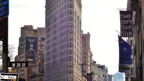 Fotodagbog fra New York - Flatiron Building - Rejsdiglykkelig.dk