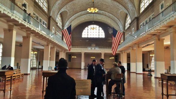 Fotodagbog fra New York - Immigrations museet på Ellis Island - Rejsdiglykkelig.dk