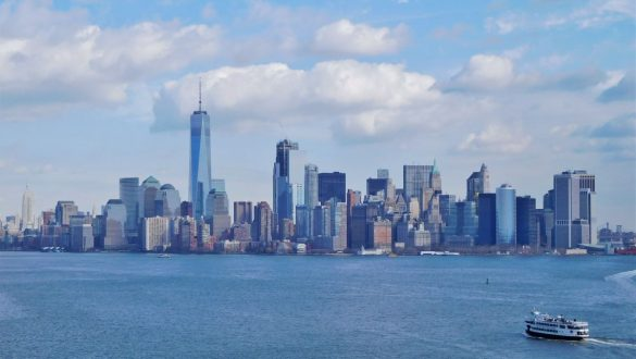 Fotodagbog fra New York - New Yorks skyline - Rejsdiglykkelig.dk