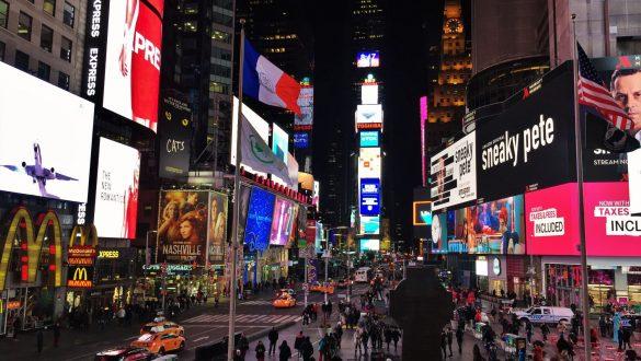 Fotodagbog fra New York - Travle Times Square - Rejsdiglykkelig.dk