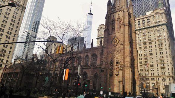 Fotodagbog fra New York - Trinity Church - Rejsdiglykkelig.dk