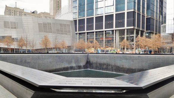 Fotodagbog fra New York - World Trade Center Memorial - Rejsdiglykkelig.dk